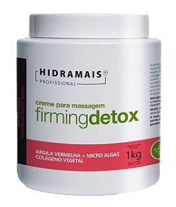 Creme De Massagem Redução De Medidas Firming Detox Hidramais 1kg
