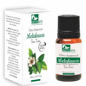 Óleo de Melaleuca Tea Tree Dermare 10ml