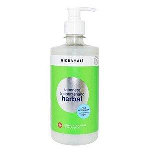 Sabonete Líquido Hidramais 400ml + 100ml Grátis Antibacteriano Herbal