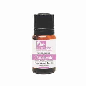 Óleo Essencial 100% Natural Patchouli 10ml Dermare
