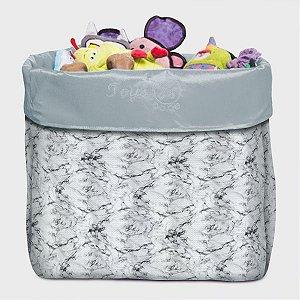 Caixa de Brinquedo Marble Grey