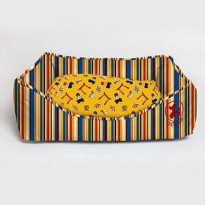 Cama Retangular Stripes