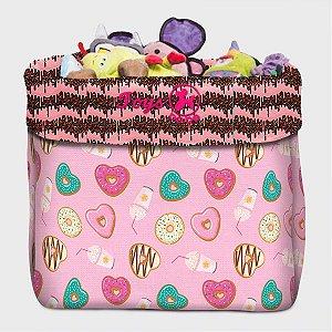 Caixa de Brinquedo Donut