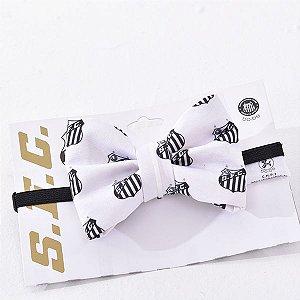 Laço/Gravata Santos Escudo Branco