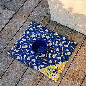 Jogo Americano O Pequeno Príncipe - Azul