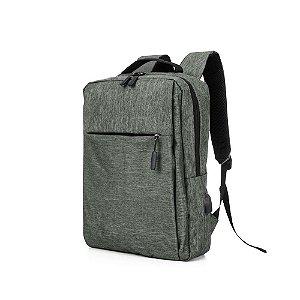 Mochila confeccionada em nylon com compartimento para notebook