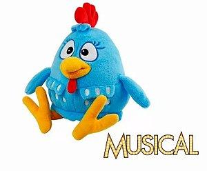Pelúcia da Galinha Pintadinha musical
