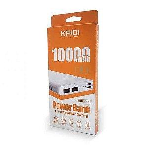 Carregador Portátil Powerbank Kaidi Kd-168 10000 Mah