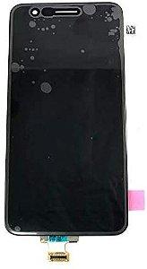 Tela Display Lcd Lg K11 Plus K11+ X410 Lmx410bcw Com Aro Preto