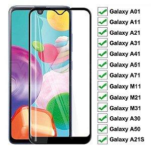 Película De Vidro Para Samsung Galaxy A21s, A01, A11, A31, A41