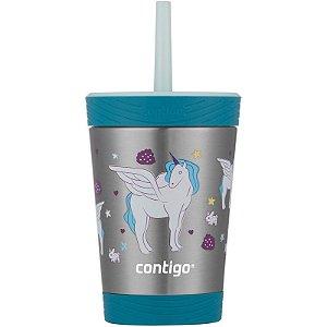 Copo Térmico Kids Unicornio Contigo 354ml
