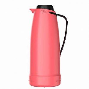 Garrafa Térmica Bule Dama Rosa 1 litro Termolar