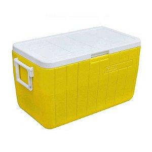 Caixa Térmica 48QT - 45,4L Amarelo Coleman