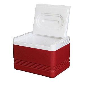 Caixa Térmica Igloo Legend 6 Latas Vermelha