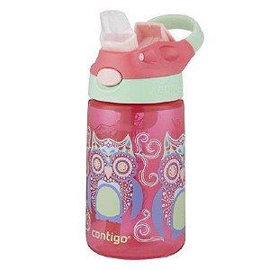 Garrafa Squeeze Infantil Coruja Contigo 414ml
