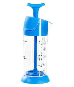 Espumador de Leite Azul Pressca