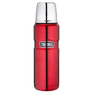 Garrafa Térmica Inquebrável 470ml Vermelha Thermos