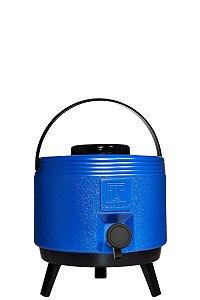 Botijão Térmico com Torneira Maxitermo Azul 6L Termolar