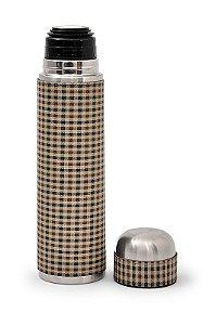 Garrafa Térmica 1l Xadrez Pequeno Lincoln's