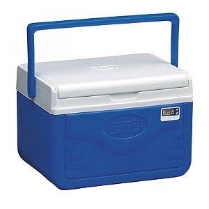 Caixa Térmica 5QT com termômetro - 4,7L Azul Coleman