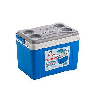 Caixa Térmica 12 litros Azul - Viktwa