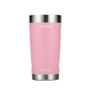 Copo Térmico Duo Simple Drink 540ml Rosa Viktwa