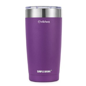 Copo Térmico Up Simple Drink 540ml Roxo Viktwa