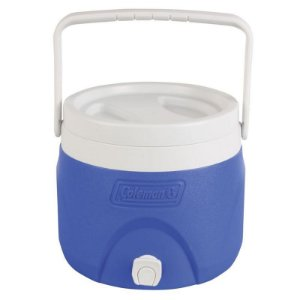 Botijão Jarra Térmica Coleman 7,5 litros c/ Torneira - Azul