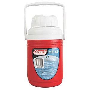 Cooler Térmico 1,3 litros Vermelho Coleman