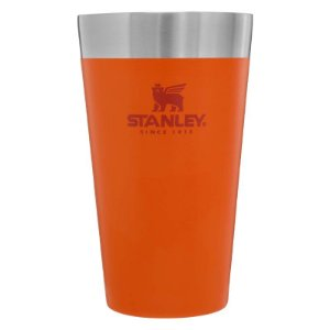 Copo Térmico de Cerveja S/Tampa Laranja 473ml Stanley