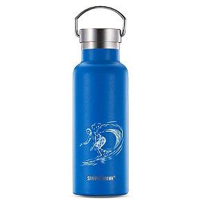 Garrafa Térmica com Alça SURF Viktwa 500ml Azul
