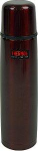 Garrafa Térmica Inquebrável Vermelho 1 Litro Thermos
