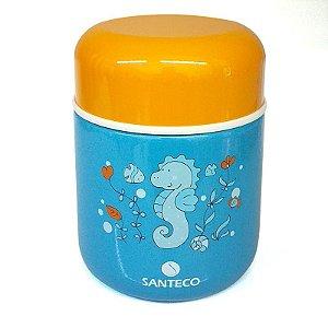 Pote Termico Infantil 280ml Azul Santeco