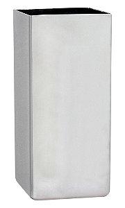 Copo Tereré Inox Quadrado 110 X 50 mm