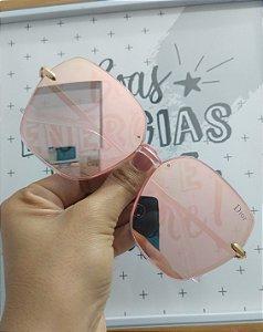 Dior rosa espelhado