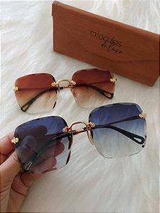Óculos Amora cristal