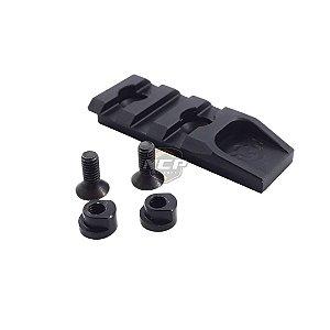 Trilho 50mm - Keymod - Kpp Airsoft
