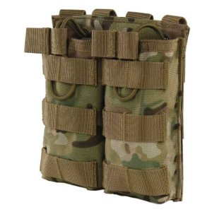 Tático MOLLE Duplo Open Top Mag Bolsa M4/M16 Revista Bolsa Militar Airsoft