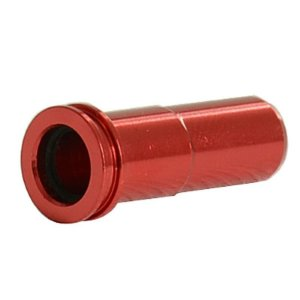 Nozzle SHS SINAIRSOFT CNC Alumínio-ring Super Seal Bico de Ar para M4 MP5 AK Series Airsoft AEG G36 G36c M14 M16