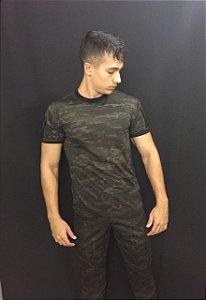 Camiseta multicam Black com bolso