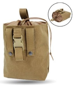 DROPMAG POUCH TAN COMPACTO