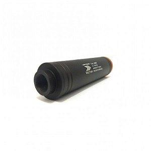 SILENCIADOR 35 X 120mm ROSCA ESQUERDA - AIRPRESS VECTOR