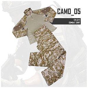 FARDAMENTO COMBAT SHIRT CAMO05