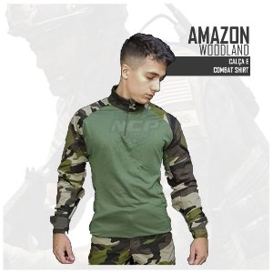 FARDAMENTO COMBAT SHIRT AMAZON WOODLAND