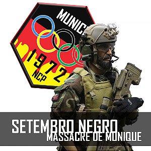 26.04| SET NEGRO - MASSACRE DE MUNIQUE ATIBAIA GHOST HOTEL
