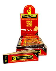 TIPS YELLOW FINGER BROWN