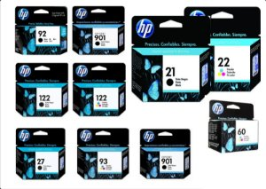 CARTUCHOS HP ORIGINAL
