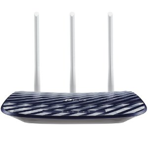 Roteador TP-Link Dual Band 750Mbps, 3 Antenas - Archer C20