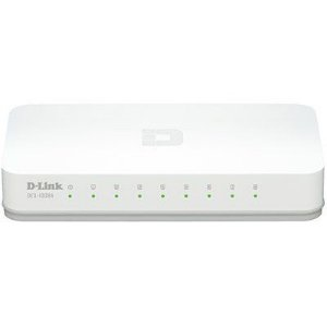 Switch DGS-1008A D-Link 10/100/1000Mbps Gigabit Ethernet com 8 portas