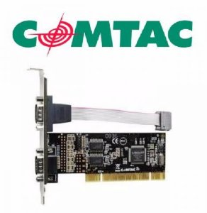 Placa Serial PCI COMTAC 2 SERIAIS LOW PROFILE